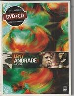 DVD + CD  LENY ANDRADE   Ao Vivo   Etat: TTB Port 110 Gr - Concert & Music
