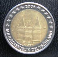 Germany - Allemagne - Duitsland   2 EURO 2006 F  Speciale Uitgave - Commemorative - Duitsland