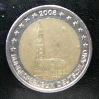Germany - Allemagne - Duitsland   2 EURO 2008 G    Speciale Uitgave - Commemorative - Duitsland