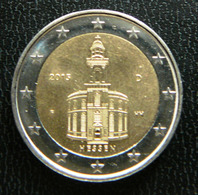 Germany - Allemagne - Duitsland   2 EURO 2015 F     Speciale Uitgave - Commemorative - Duitsland