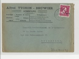 TP 724 N Hombourg 13.VII.46 S/l. Commerciale V. Bruxelles - 1946 -10 %
