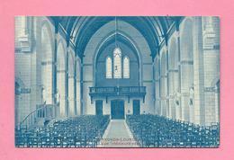 C.P. Quaregnon Lourdes    =  Vue  Intérieure  De L' Eglise  Vers Le  JUBE - Quaregnon