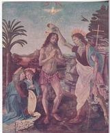 Andrea Del Verrocchio E Leonardo Da Vinci - II Battesimo Di Cristo - Peintures & Tableaux