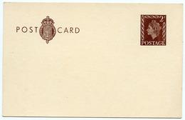 POST CARD / PRE-PAID STATIONERY - QEII 2D - 1952-.... (Elizabeth II)