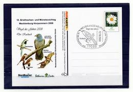 BRD, 2008, Ganzsachen-Karte Mit Michel 2451, Sonderstempel, Vogel Des Jahres 2008/Kuckuck - [7] Federal Republic