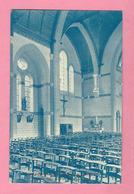 C.P. Quaregnon Lourdes    =  Vue  Du  Transept Et  Les Bas  Côtés  De L' Eglise - Quaregnon