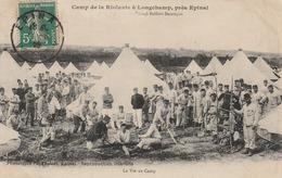 Camp De La Riolante à Longchamp, Près Epinal - La Vie Au Camp - Francia