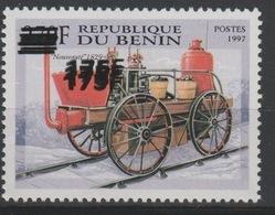 Bénin 2005 Mi. 1382 Nouveauté 1929 Locomotive Lokomotive Train Railways Eisenbahn DOUBLE Surchargé Overprint MNH** - Bénin – Dahomey (1960-...)