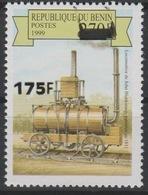 Bénin 2005 Mi. 1390 1811 John Blenkinsop Locomotive Lokomotive Train Railways Eisenbahn Surchargé Overprint MNH** - Bénin – Dahomey (1960-...)