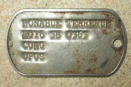 Plaque D'Identité US Vietnam - Equipement