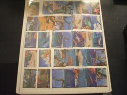 GABON - 1995 PREISTORICI 12+12+12 VALORI - NUOVI(++) - Gabon (1960-...)
