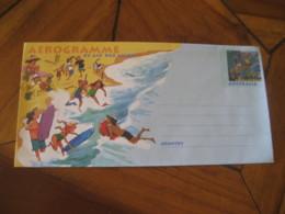 Diving Aerogramme Australia Air Letter Surf Surfing Surfer Diver - Tauchen