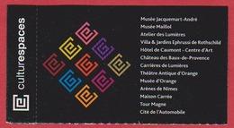 Musée Maillol. Ticket Pour Divers Musées. Cultrespaces. 2019. - Tickets D'entrée