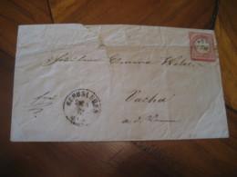 1872 HERBSLEREN Deutsche Reichs Post 1 Groschen Stamp On Cover GERMANY Empire - Deutschland
