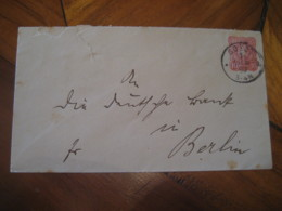 1890 SOEST ? To Berlin Deutsche Reichs Post 10 Pfennig Postal Stationery Cover GERMANY Empire - Alemania