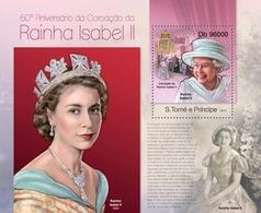 Sao Tome & Principe 2013. [st13113] Queen Isabel II (s\s+bl) - Königshäuser, Adel