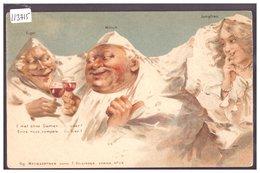 EIGER, MÖNCH UND JUNGFRAU - HUMANISIERTE BERGEN - KILLINGER LITHO - TB - BE Berne