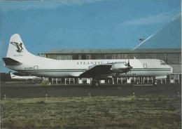 Atlantic Cargo Lockheed L-188 Electra G-LOFC Aereo At CVT Aviation - 1946-....: Era Moderna