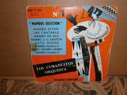 "EP 45t 7"" /  Los Cubacitos Orquestra  Mambo Gitan Mambo - World Music"