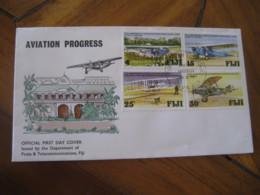 SUVA Fiji 1978 Aviation Progress FDC Cancel Cover - Fidji (1970-...)