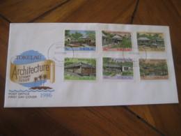 FAKAOFO Tokelau 1986 Hospital School Architecture FDC Cancel Cover - Tokelau