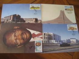 BISHO Ciskei 1986 Telephone Assembly Shrine Sebe President Maxi Maximum 4 Card - Ciskei