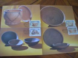MUTALE Venda 1989 Traditional Kitchenware Pottery Art ... Maxi Maximum 4 Card - Venda