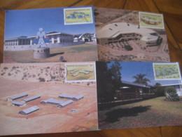 MMABATHO GARANKUWA Bophuthatswana 1987 University School Hotel Farmer Manpower Maxi Maximum 4 Card - Bophuthatswana
