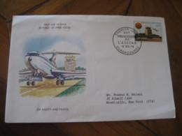 OUAGADOUGOU Upper Volta 1979 ASECNA Airport Airline Air Safety Travel FDC Cancel Cover Republique De Haute-Volta - Haute-Volta (1958-1984)