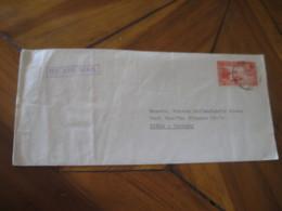 ASMARA Eritrea Ethiopia 1966 To Riesa Germany Stamp On Cancel Air Mail Cover - Ethiopie