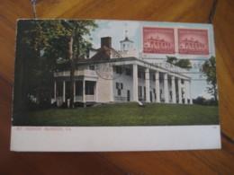 MOUNT VERNON 1956 Mansion Maxi Maximum Card USA - Cartoline Maximum