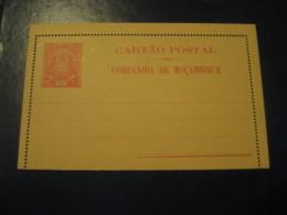 25 Reis Elephant Cartao Postal Companhia De Moçambique MOZAMBIQUE Portugal Colonies Postal Stationery Card - Mozambique