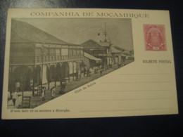 10 Reis Club Da Beira Elephant Bilhete Postal Companhia Moçambique MOZAMBIQUE Portugal Colonies Stationery Card - Mozambique