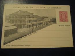 10 Reis Beira Rua Conselheiro Ennes Elephant Bilhete Postal Companhia Moçambique MOZAMBIQUE Portugal Colonies Stationery - Mozambique