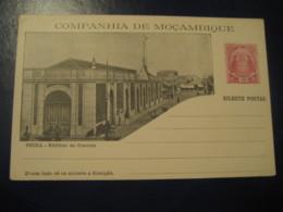 10 Reis Beira Edificio Do Correio Elephant Bilhete Postal Companhia Moçambique MOZAMBIQUE Portugal Colonies Stationery - Mozambique