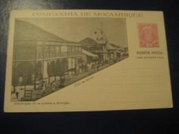 10+10 Reis Beira Club Bilhete Postal + Resposta Paga Companhia Moçambique MOZAMBIQUE Portugal Colonies Stationery - Mozambique