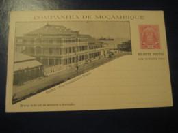 10+10 Reis Beira Rua Ennes Bilhete Postal + Resposta Paga Companhia Moçambique MOZAMBIQUE Portugal Colonies Stationery - Mozambique