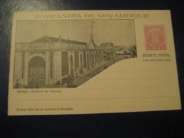 10+10 Reis Beira Ed. Correio Bilhete Postal + Resposta Paga Companhia Moçambique MOZAMBIQUE Portugal Colonies Stationery - Mozambique