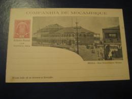 10+10Reis Beira Ennes Street Bilhete Postal + Resposta Paga Companhia Moçambique MOZAMBIQUE Portugal Colonies Stationery - Mozambique