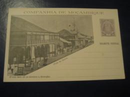 20 Reis Club Da Beira Elephant Bilhete Postal Companhia De Moçambique MOZAMBIQUE Portugal Colonies Stationery Card - Mozambique