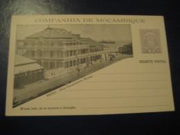 20 Reis Beira Rua Conselheiro Ennes Elephant Bilhete Postal Companhia Moçambique MOZAMBIQUE Portugal Colonies Stationery - Mozambique