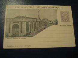 20 Reis Beira Edificio Do Correio Elephant Bilhete Postal Companhia Moçambique MOZAMBIQUE Portugal Colonies Stationery - Mozambique