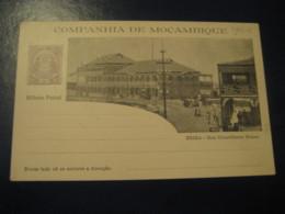 20 Reis Beira Conselheiro Ennes Street Bilhete Postal Companhia Moçambique MOZAMBIQUE Portugal Colonies Stationery - Mozambique