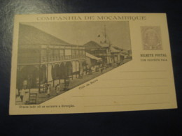 20+20 Reis Club Da Beira Bilhete Postal + Resposta Paga Companhia De Moçambique MOZAMBIQUE Portugal Colonies Stationery - Mozambique