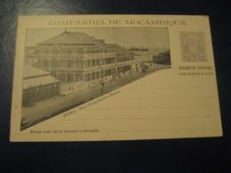 20+20Reis Beira Rua C. Ennes Bilhete Postal + Resposta Paga Companhia Moçambique MOZAMBIQUE Portugal Colonies Stationery - Mozambique