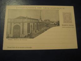 20+20Reis Beira Edif Correio Bilhete Postal + Resposta Paga Companhia Moçambique MOZAMBIQUE Portugal Colonies Stationery - Mozambique