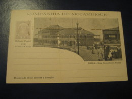 20+20Reis Beira Ennes Street Bilhete Postal + Resposta Paga Companhia Moçambique MOZAMBIQUE Portugal Colonies Stationery - Mozambique