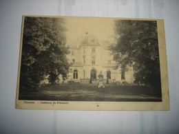 CPA - FLEURUS ( CHARLEROI ) - CHATEAU DE PLOMCOT - Fleurus