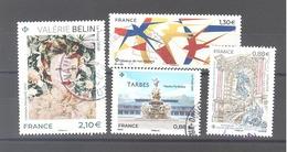 France Oblitérés : Valérie Belin - Oiseaux De Nos Régions - Tarbes - Fontaine Saint-Michel Paris (cachet Rond) - Used Stamps