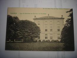 CPA - FLEURUS ( CHARLEROI ) - VUE DE DERRIERE DU CHATEAU DE STE ANNE - Fleurus